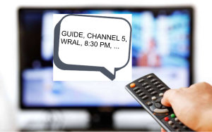 Audio Description (Video Description) on TV (Television)