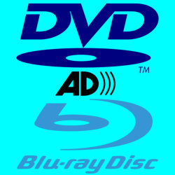 DVD and Blu-ray Disc Logos