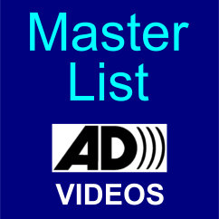 ADP Master List of Audio Described Videos