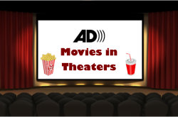 Current USA Movies With Audio Description